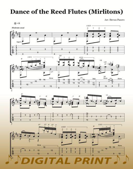 Dance of the Reed Flutes Nutcracker Suite Stevan Pasero