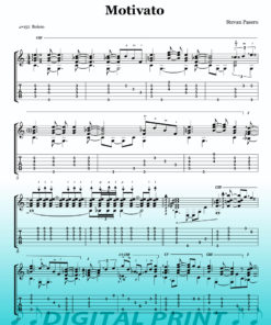Motivato sheet music by Stevan Pasero