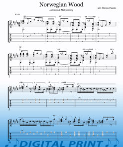 Norwegian Wood sheet music by Stevan Pasero