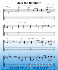 Over the Rainbow sheet music arranged by Stevan Pasero