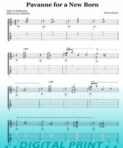 Pavanne for a New Born sheet music by Stevan Pasero