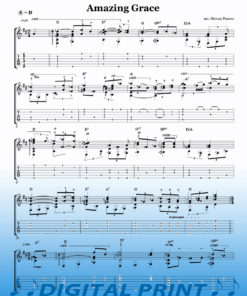 Amazing Grace Sheet Music arranged by Stevan Pasero