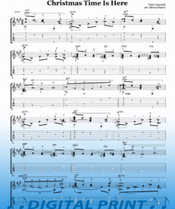 Christmas Time Is Here sheet music by Stevan Pasero