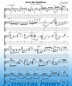 Somewhere Over the Rainbow sheet music by Stevan Pasero