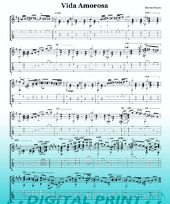 Vida Amorosa sheet music by Stevan Pasero